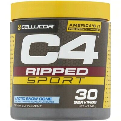 AU29.97 • Buy Cellucor C4 Id  Ripped Pre Workout  Energy Thermogenic Fat Burner 30 Serves