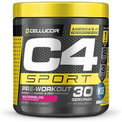 AU29.97 • Buy Cellucor C4 Ripped Sport Pre-workout 30 SERVES Watermelon