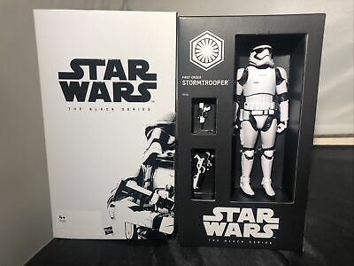 Star Wars Black Series 6 Inch First Order Stormtrooper SDCC Exclusive Figure • 38£