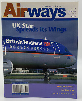 $9.95 • Buy Airways Magazine September 2000 Aviation Airlines Aircraft Airport Airplane