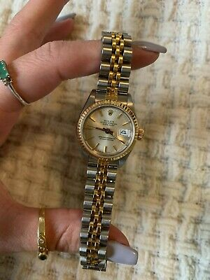 $ CDN5916.59 • Buy Rolex Datejust Stainless Steel And 18k Yellow Gold Ladies 26mm Watch.