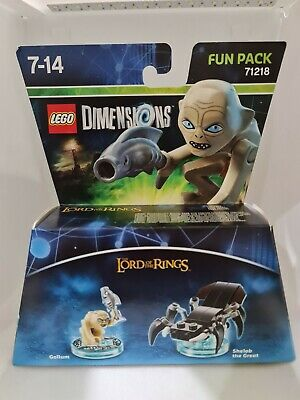 Lego 71218 Dimensions, Gollum & Shelob, Pre-Owned, 100% Complete Manual And Box • 15.53£