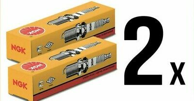 2 X GENUINE NGK BPR5ES SPARK PLUG LAWNMOWER CHAINSAW TRACTOR GENERATOR With BOX • 4.95£