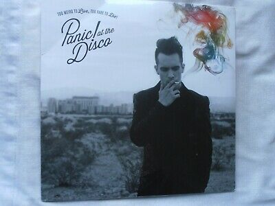 PANIC AT THE DISCO Too Weird To Live, Rare Die! LP NEW  Vinyl Sealed • 11.95£