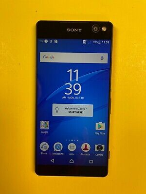 $ CDN114.39 • Buy Sony Xperia C5 Ultra 16GB (Unlocked) Smartphone - Black - Excellent Condition