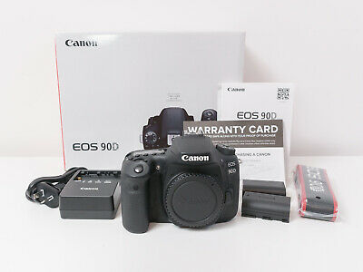 AU1560 • Buy Canon 90D 32.5 MP Camera Body Only ~As New & Under Warranty