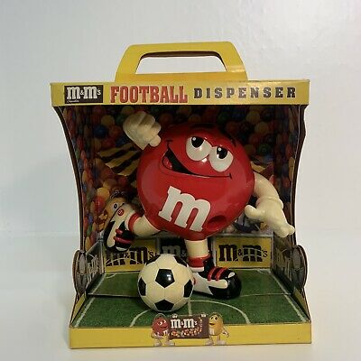 £34.99 • Buy M&M's Chocolate Football Dispenser - Vintage Collectible - Rare In Box