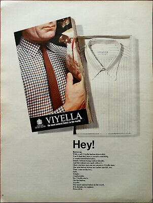 Viyella The Most Natural Fabric In The World Vintage Advertisement 1966 • 6.49£