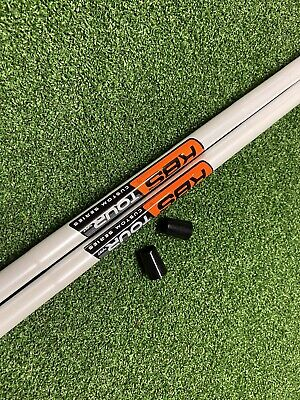 AU148 • Buy 2  X New KBS Tour Custom Wedge Shafts Stiff. White With Orange Label