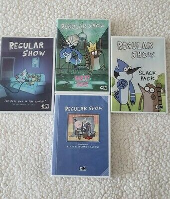 Regular Show Season 1&2 Dvd And 3 Dvd Movies Free Shipping  • 32.55£