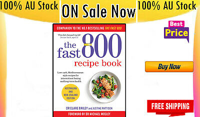 AU24.89 • Buy Brand New 2019 The Fast 800 Recipe Book Paperback Recipes Cookbook Low Carb Diet