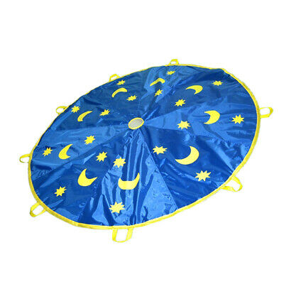 Play Parachute 6FT Boys Girls Outdoor Playground Group Teamwork Training Toy • 11.27£