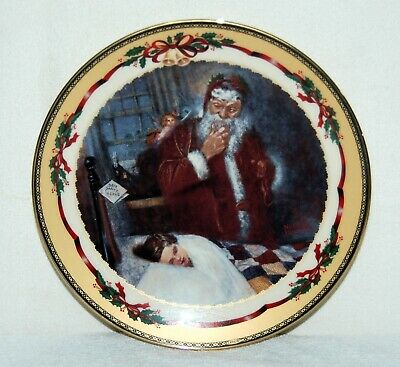 "$ CDN24.25 • Buy Norman Rockwell Christmas Memories Collector's Plate ""Wishes Come True Porcelain"