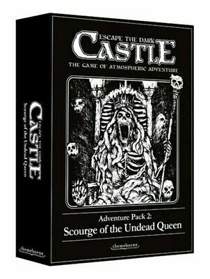 £14.99 • Buy Escape The Dark Castle Adventure Pack 2 Scourge Of The Undead Queen Card Game