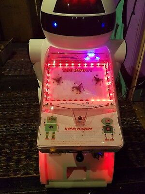 Coin Operated Kids Robot Arcade Machine • 550£