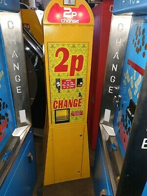 Coin Operated 2p Change Arcade Machine • 650£