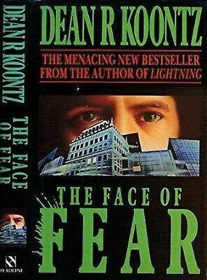 The Face Of Fear By Dean R Koontz Paperback • 1.99£