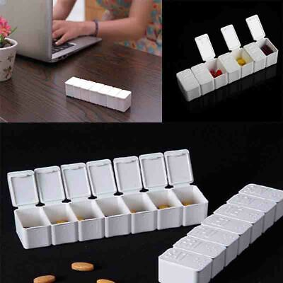 AU1.51 • Buy Weekly 7 Day Pill Box Medicine Storage Tablet Container Deattached Organizer R