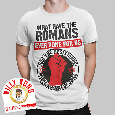 £7.99 • Buy Peoples Front Of Judea T-Shirt Romans Life Of Brian Retro 70s 80s Gift UK Monty