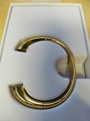 AU46.24 • Buy Fitbit Alta Metal Accessory Bracelet Gold Coloured Stainless Steel Size Small