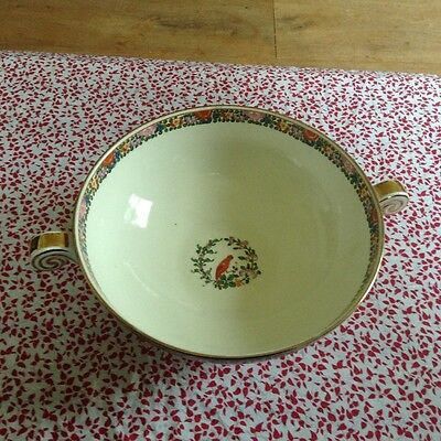 Royal Worcester Crown Ware Parrot Bowl • 35£