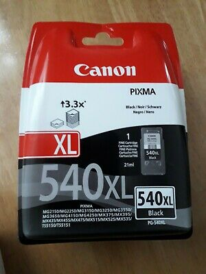 Canon PG-540XL High Capacity Ink Cartridge Black • 25£