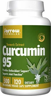 Jarrow Formulas Curcumin 95 Provides Antioxidant Support 500 Mg 120 Veggie Caps • 20.24£