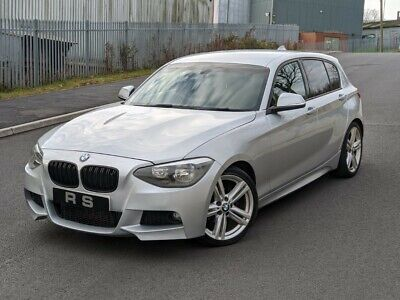 2012 Bmw 118d 1 Series M Sport 2.0 Diesel Silver 5 Door Hatchback 120d Px Swap  • 6,250£