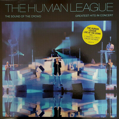 The Human League - The Sound Of The Crowd - Vinyl Record DVD And LP NEW • 28.30£
