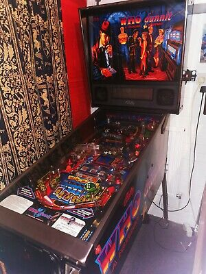Whodunnit Pinball Machine, A Murder Mystery Excellent Condition / Fully Working  • 3,495£