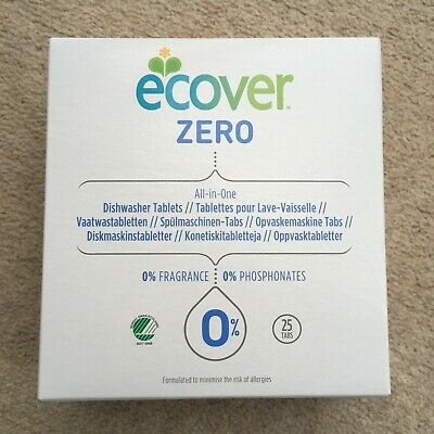 Ecover Zero Dishwasher Tablets - 25 Tablets • 9.99£