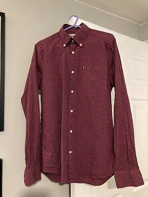 Barbour Tailored Fit Shirt Small • 12.50£