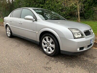 Vauxhall Vectra 3.2 LPG V6 Elite In Stunning Silver With Full Grey Leather ULEZ • 1,750£