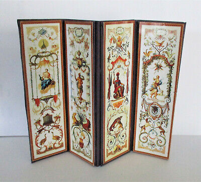 Dolls House DRESSING SCREEN Room Divider Handmade #3F • 6.99£
