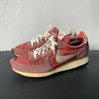 AU516.06 • Buy RARE Vintage 80s Nike Air Valkyrie Sneakers Running Shoes USA 9 Red Swoosh