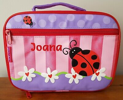 Stephen Joseph SJ570160 Children's Lunch Box, Ladybug, Joana's Name Embroidered • 9.99£