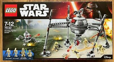 BRAND NEW & SEALED Lego Star Wars Homing Spider Droid 75142 - Retired Set • 84.99£