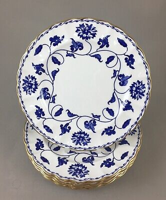 Spode China Blue Colonel R6235 Side/tea/bread Plates X 6 1st Perfect  • 60£