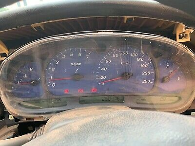 AU400 • Buy Holden HSV VX Commodore Clubsport LS1 Instrument Cluster Blue - Used