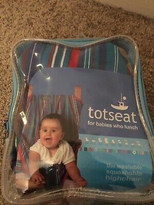 Baby Toddler Tot Seat Washable High Chair Travel Chair Harness Babies 8-30 Mths • 5£