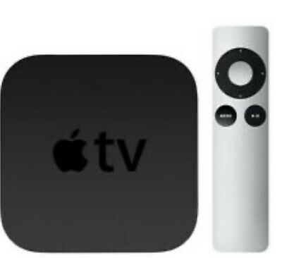 AU75.68 • Buy Apple Tv 3rd Gen A1469 + Remote + Mount + Power Cord Streaming Player Orig Box
