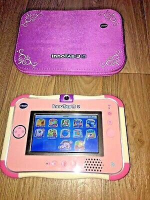 Vtech Innotab 3s In Pink With New Sealed Hello Kitty Game And Case • 14.99£