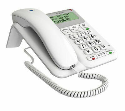 BT Decor 2200 Corded Home /Office Telephone Caller ID Handsfree 1571 Button New • 29.99£