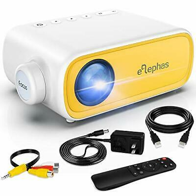 Mini Projector,  Portable Projector For IPhone, Video Smart Led Pocket Yellow • 60.86£