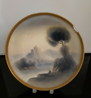 Royal Worcester Hand-painted R Rushton Pin Dish  • 0.99£