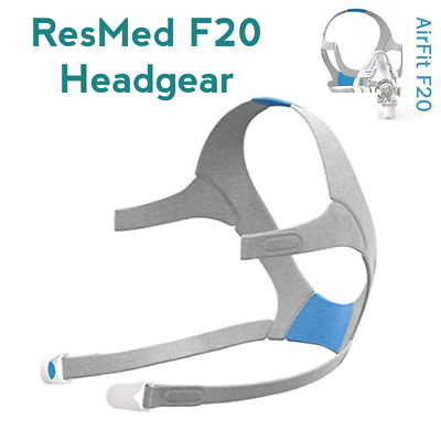 AU59 • Buy Brand New ResMed F20 CPAP Mask Replacement Headgear / Mask Strap - Med Size