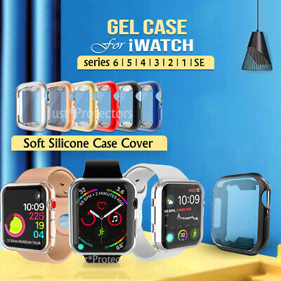 AU5.49 • Buy For Apple Watch IWatch Series SE 6 5 4 3 2 1 Case Soft Full Cover 44 38 40 42 Mm