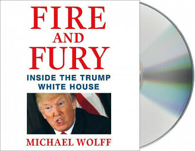 AU39.89 • Buy Fire And Fury: Inside The Trump White House [Audio] By Michael Wolff