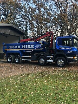 Grab Hire In Essex, Aggregate And Building Material Deliveries And Muck Away • 0.99£