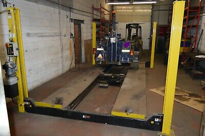 Rotary 4 Post 5.5 Ton Vehicle Ramp And Centre Jack For Gear Box / Engine • 1,500£